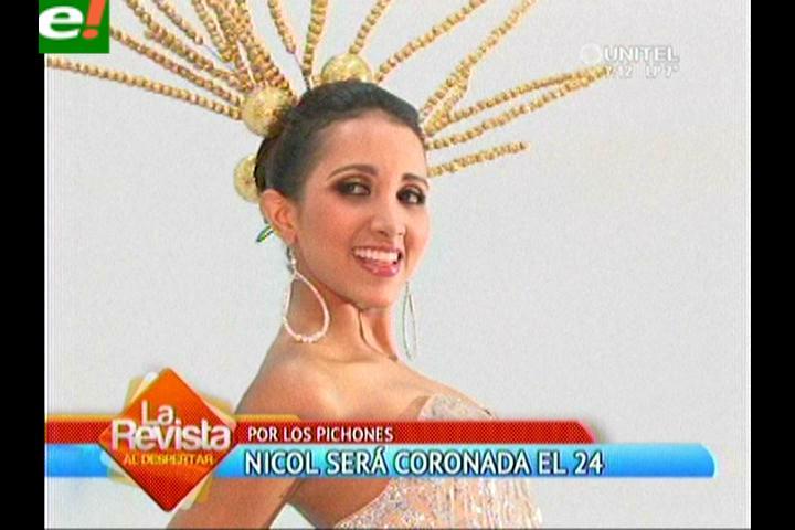 Nicol Gonzáles es reina de los Pichones