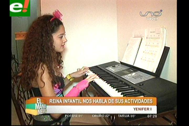Yenifer García una reinita talentosa