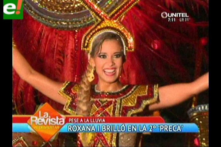 Roxana I, los Fachas y la lluvia en la segunda precarnavalera