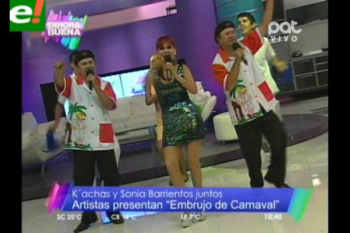 """Ya suena el """"Embrujo de Carnaval"""" de Sonia Barrientos y Los Kachas"""