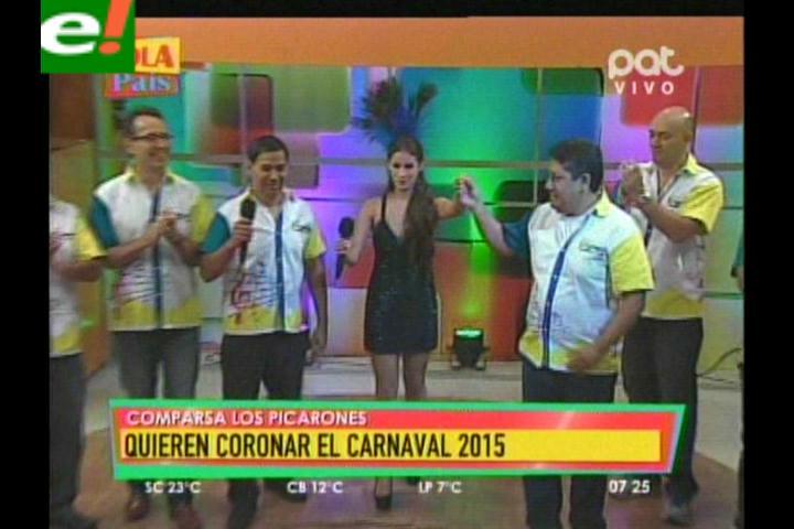 Picarones quieren ser coronadores del carnaval 2015