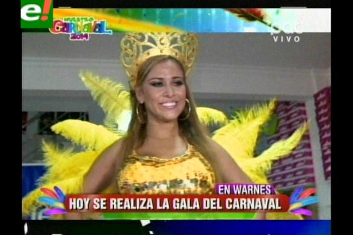 Hoy la gran Gala Carnavalera en Warnes