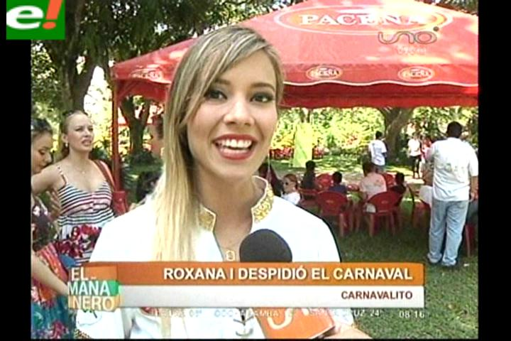 Roxana del Río y los coronadores Fachas despidieron la fiesta grande