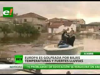 Europa colapsada por una ola de frio