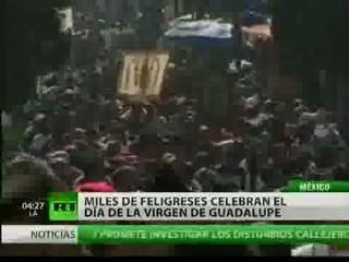 El mundo católico festejó el día de la Virgen de Guadalupe