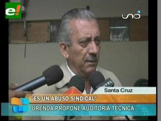 """Oscar Urenda: """"Lo que está sucediendo en la Maternidad es un abuso sindical"""""""
