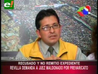 Alcalde Luis Revilla demanda al juez Ricardo Maldonado por prevaricato