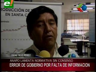 """Demetrio Pérez: """"Las medidas aprobadas por el Gobierno no son justas para la producción de soya"""""""