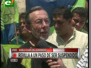 """Del Granado: """"Continuaremos con la defensa legal de Revilla, pero advertidos de la manipulación de la justicia"""""""