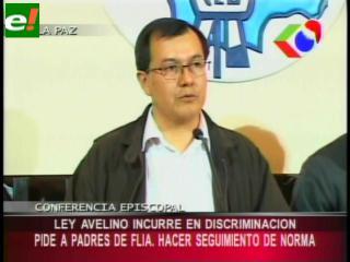 Conferencia Episcopal de Bolivia califica de discriminatoria la Ley Educativa «Avelino Siñani»