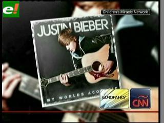 Justin Bieber dona gran porcentaje de sus ventas de discos a actividades de beneficiencia