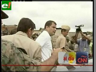 Gobierno ecuatoriano militariza 9 mil hectáreas de tierra en Guayaquil