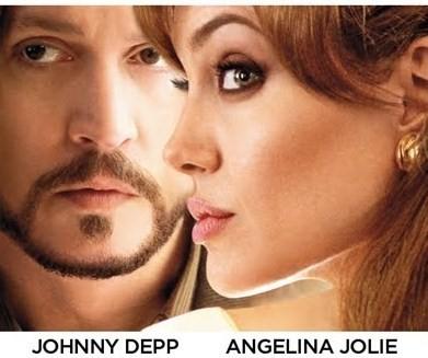 """""""El Turista"""", un romance veneciano de Johnny Depp y Angelina Jolie"""