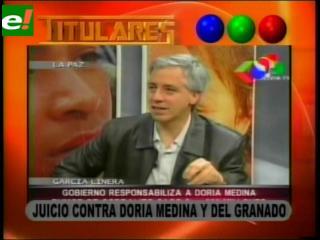 Asamblea Plurinacional anuncia juicio contra Juan Del Granado y Samuel Doria Medina