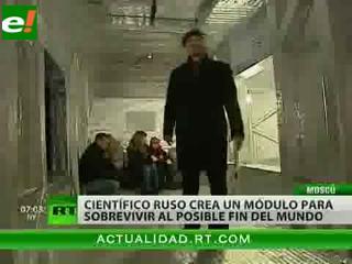 Científico ruso crea un refugio para sobrevivir en 2012