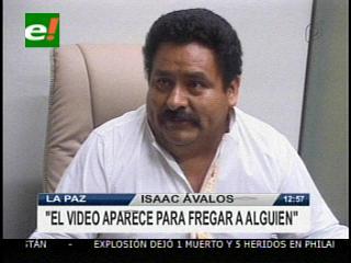 """Senador Ávalos: """"El video de El Viejo tiene la intención de fregar a alguien"""""""