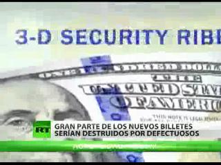 Nuevo billete de 100 dólares empeora situación económica de EEUU