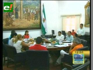 Alcaldía cruceña aprueba el uso de recursos económicos para rescate en el edificio Málaga