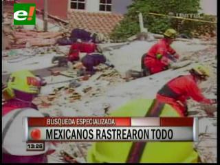 Especialistas internacionales profundizan los trabajos de rescate en el Málaga