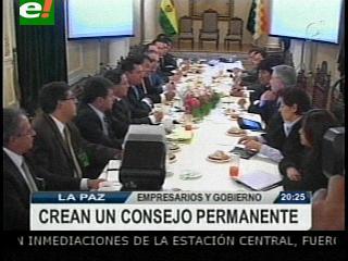Empresarios y Gobierno reunidos, conformarán un Consejo Consultivo