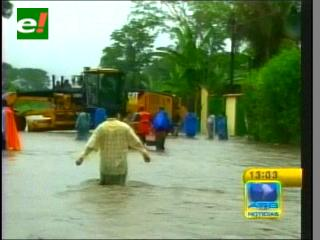 Inundaciones no dan tregua al Trópico de Cochabamba