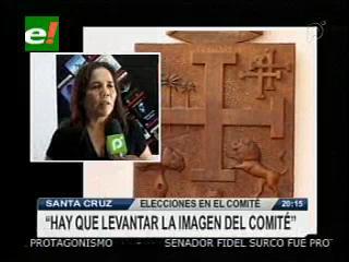 Maggy Talavera: «El nuevo Presidente tiene el reto de cambiar la imagen del Comité Cívico Cruceño»