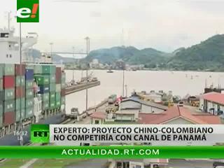 China intenta construir en Colombia alternativa al canal de Panamá