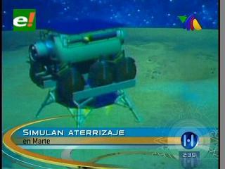 Investigadores simulan llegada al Planeta Marte