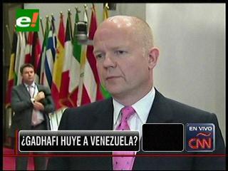 Gran Bretaña cree que el Presidente de Libia huyó a Venezuela, Gobierno venezolano lo niega