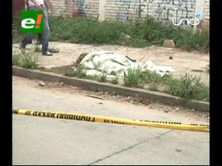 Santa Cruz: Sicarios asesinan a una mujer en plena vía pública