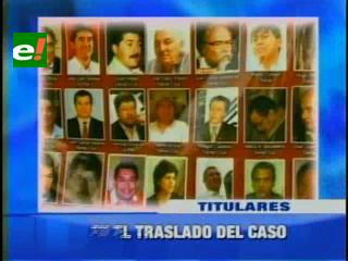 Familiares de acusados por terrorismo en campaña, piden que se traslade el caso a Santa Cruz
