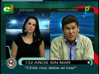 """Senador Surco: """"Chile nos debe el mar, con sangre y guerra es imposible recuperarlo"""""""