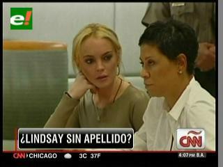 Lindsay Lohan se quita el apellido de su papá