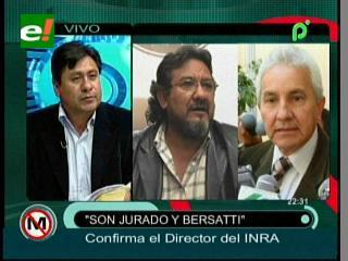 """Juan Carlos Rojas: """"Las tierras de los senadores del MAS no cumplían la FES, por eso se las revirtió"""""""