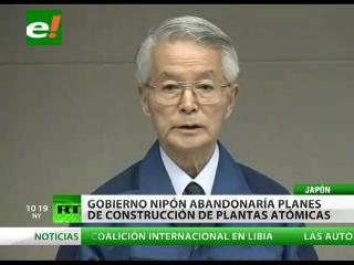 Primer ministro de Japón quiere desmantelar la planta de Fukushima