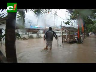 Fuertes lluvias generan desastre en Tailandia