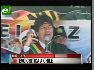 Evo Morales dice que no pasarán otros 132 años sin acceso al mar