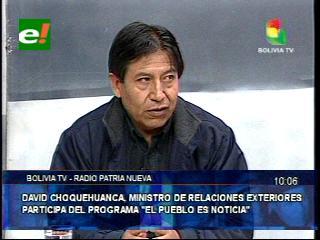«El reclamo marítimo de Bolivia es un derecho irrenunciable que está en la Constitución»