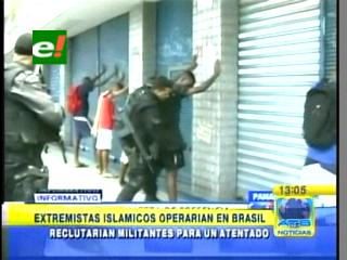 Extremistas islámicos operarían en Brasil