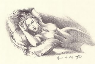 Subastan el retrato de Kate Winslet desnuda en el film Titanic