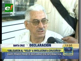 Gary Prado Salmón pide convocar a Marcelo Soza en el caso «video soborno»