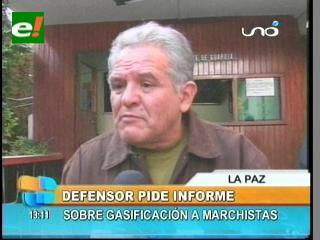 Defensor del Pueblo pedirá un informe sobre la gasificación a los trabajadores