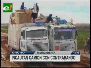 Contrabandistas atacan a efectivos del COA en Oruro