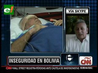 Rubén Costas asegura que la inseguridad en Bolivia es un efecto del narcotráfico