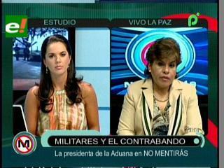Marlene Ardaya: «Buscaremos a los nexos de los militares del camión detenido con contrabando»