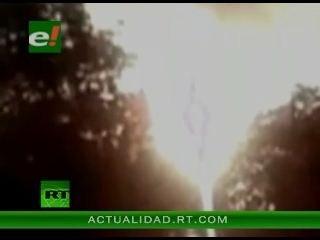 Miles de personas contemplaron la supuesta aparición de la imagen de la Virgen María en el cielo de Costa de Marfíl