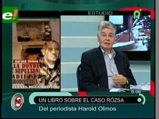 Periodista Harold Olmos presentará un libro sobre el caso Rózsa