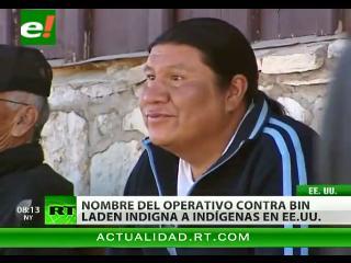 Nombre de la operación contra Bin Laden indigna a los indios apache