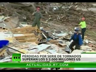 EEUU evalúa el coste de los daños causados por la reciente ola de tornados