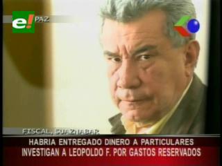 Suspenden audiencia de declaración de Leopoldo Fernández por los gastos reservados